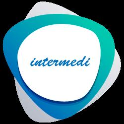 logo intermedi color verde-blu