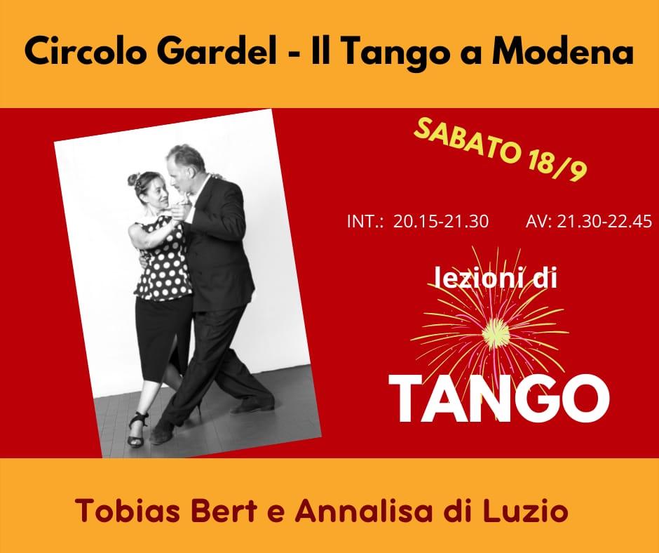 stage tango annalisa e tobias